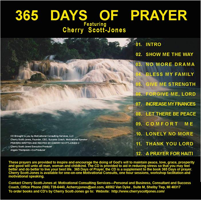 365 Days of Prayer CD $10.00